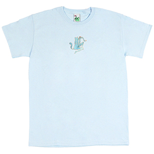 Leon Karssen Rainbroidery T-Shirt Light Blue