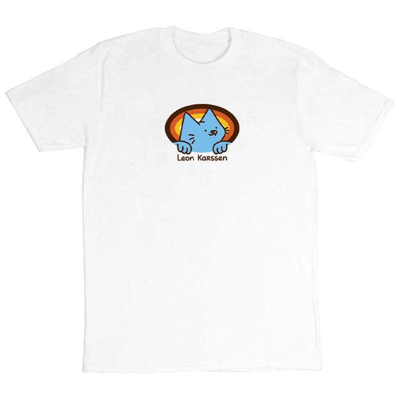 Leon Karssen Retro Logo T-shirt White