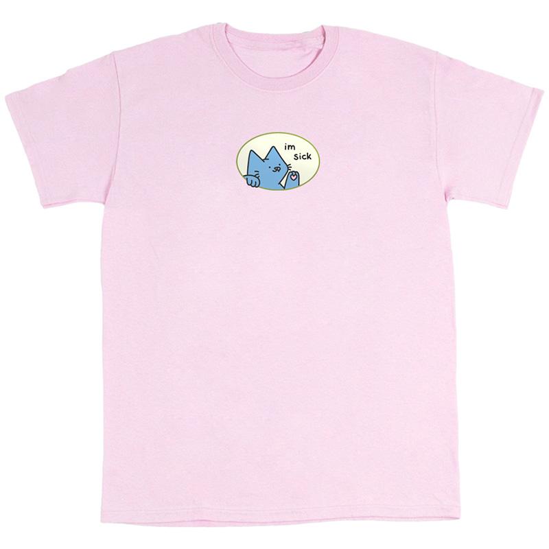 Leon Karssen Sick Of You T-Shirt Light Pink