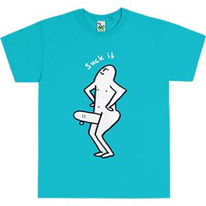 Leon Karssen Suck IT T-shirt Teal