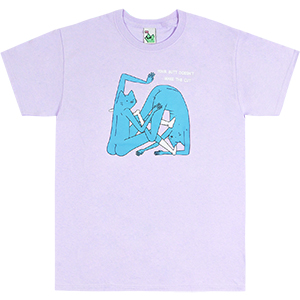 Leon Karssen The Cut T-shirt Pastel Purple