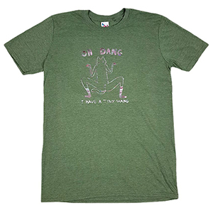 Leon Karssen Tiny Wang T-Shirt Heather Army Green