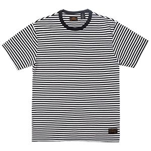 Levi's 2 Pack T-shirt Grey-Black White Stripe