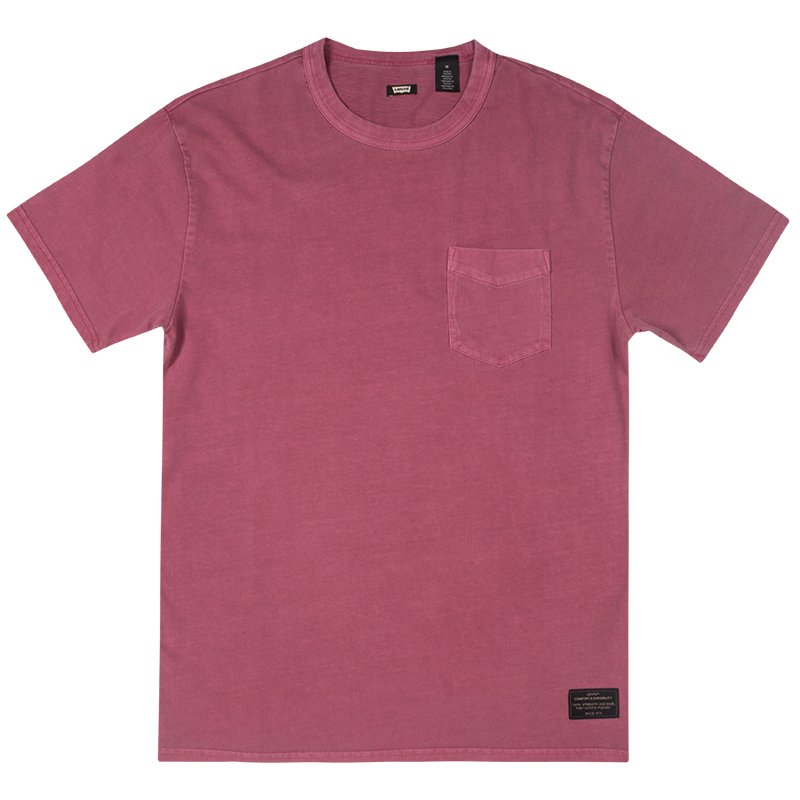 Levi's Pocket T-shirt Rose Wine