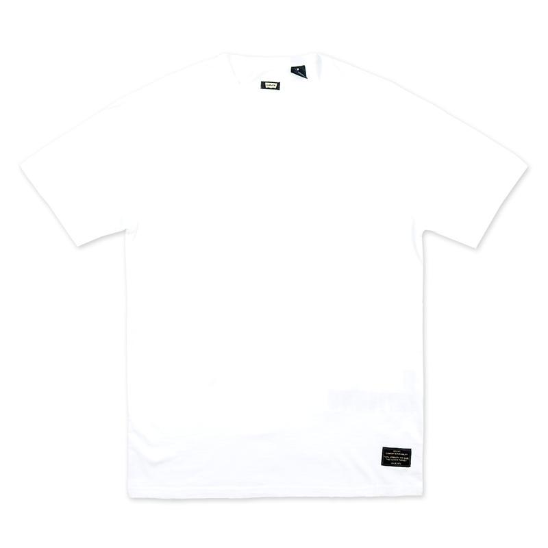 Levi's Skate 2 Pack T-Shirt Star White