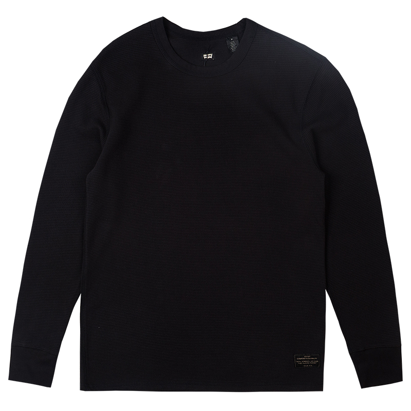 Levi's Thermal Longsleeve T-shirt Jet Black