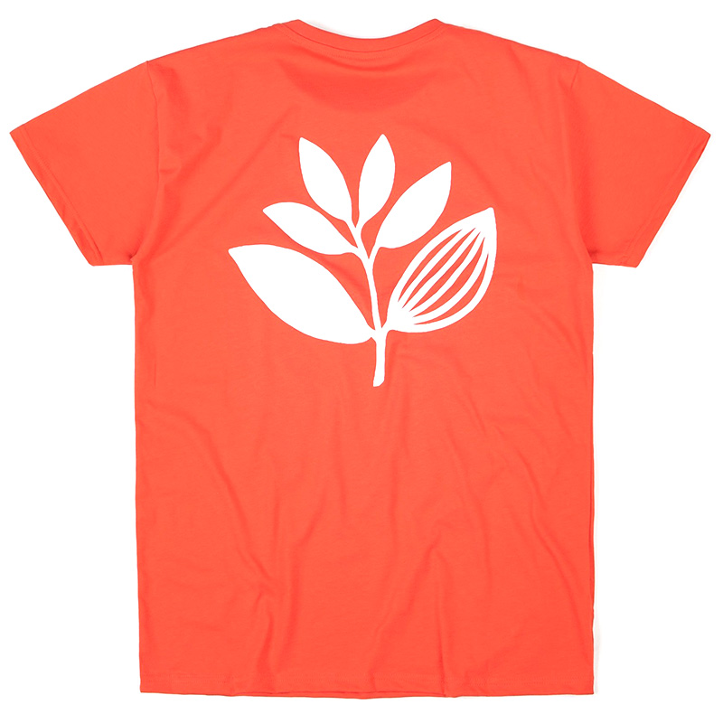 Magenta Classic Plant T-Shirt Red