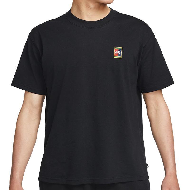 Nike SB Header T-Shirt Black