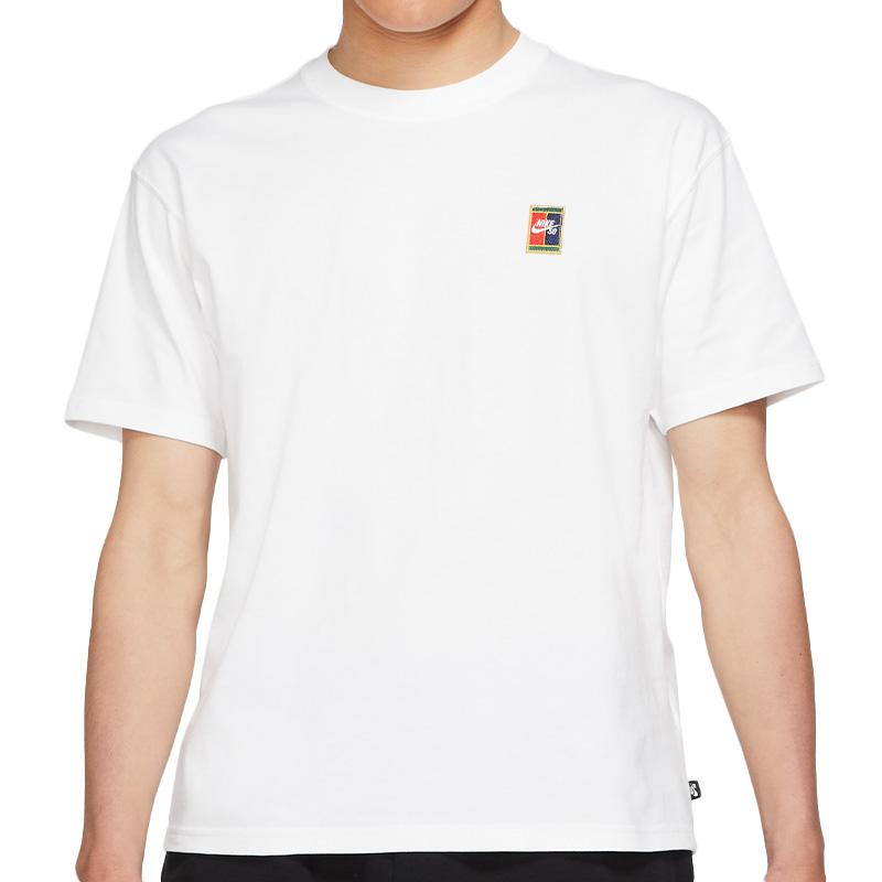 Nike SB Header T-Shirt White