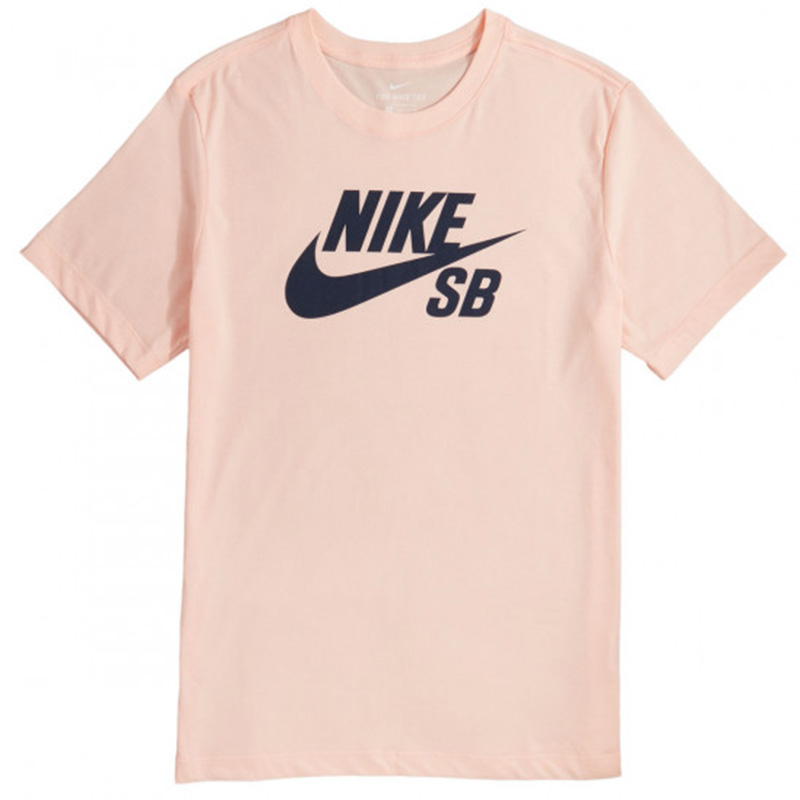 Nike SB Logo Dry T-Shirt Washed Coral/Obsidian