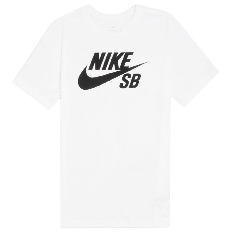 Nike SB Logo Dry T-Shirt White/Black