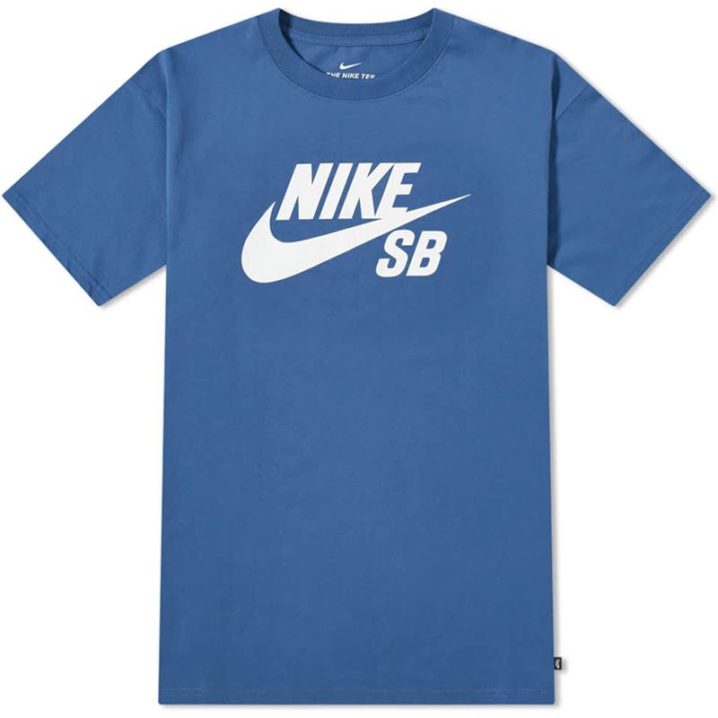 Nike SB Logo T Shirt Mystic Navy/Black