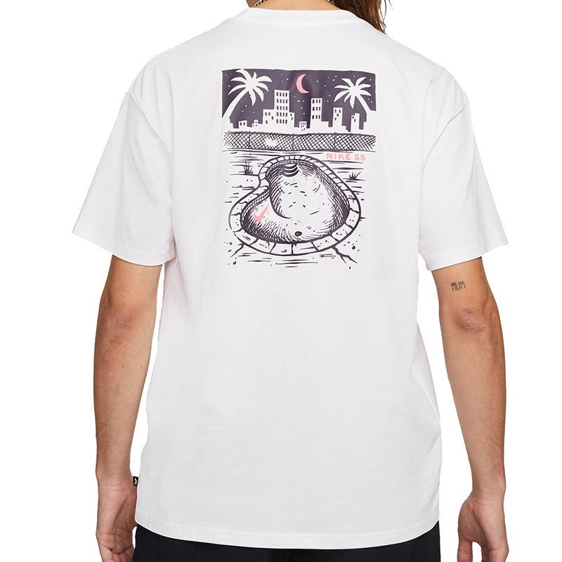 Nike SB Midnight T-Shirt White