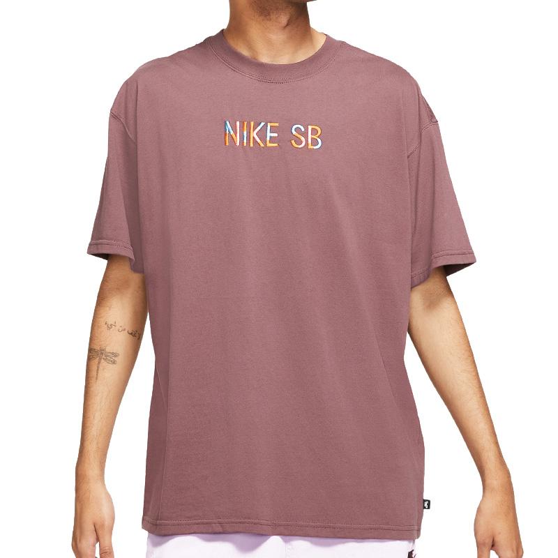 Nike SB Mosaic T-Shirt Dark Wine