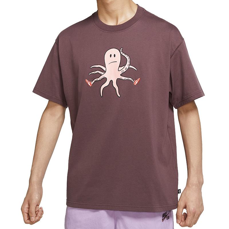 Nike SB Scott T-Shirt Dark Wine