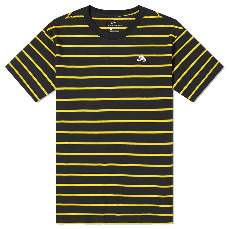 Nike SB Yd Striped T-Shirt Black/University Gold