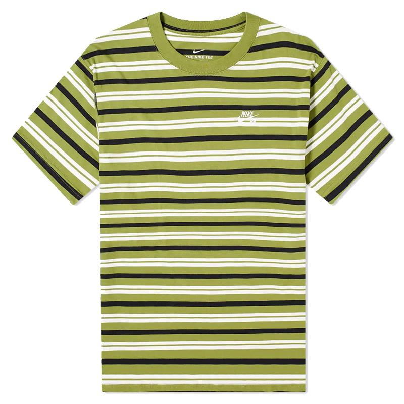 Nike SB Yd Stripe T Shirt Asparagus