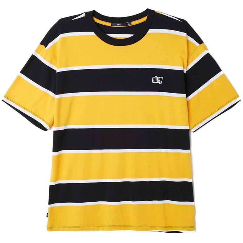 Obey Acid Classic T-Shirt Black Multi
