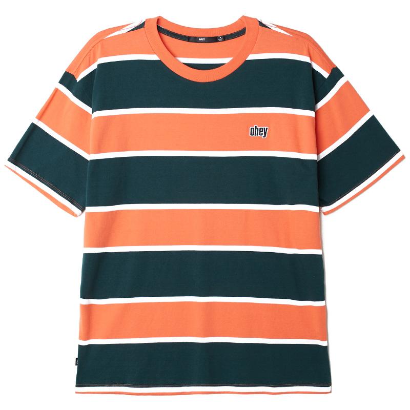 Obey Acid Classic T-Shirt Ember Multi