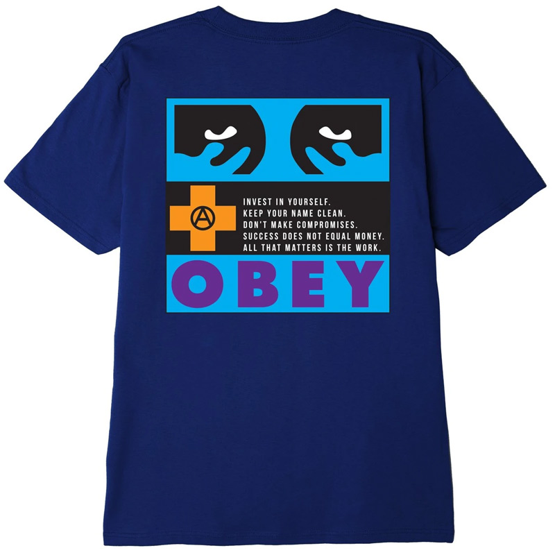 Obey All That Matters T-Shirt Navy