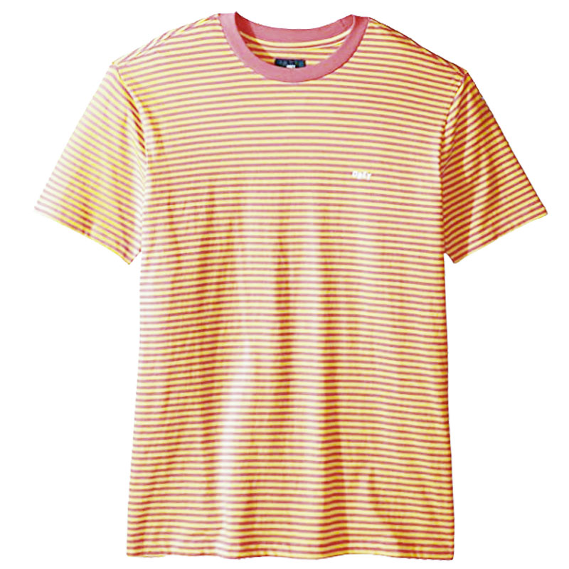Obey Apex T-Shirt Cassis Multi