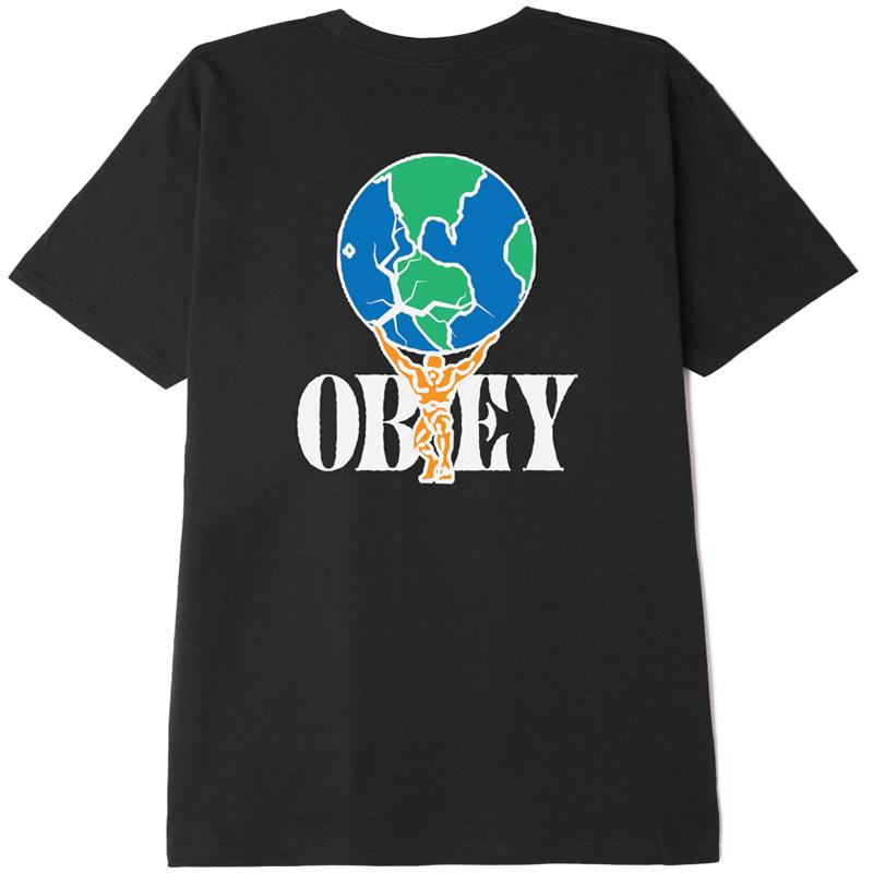Obey Atlas T-Shirt Black