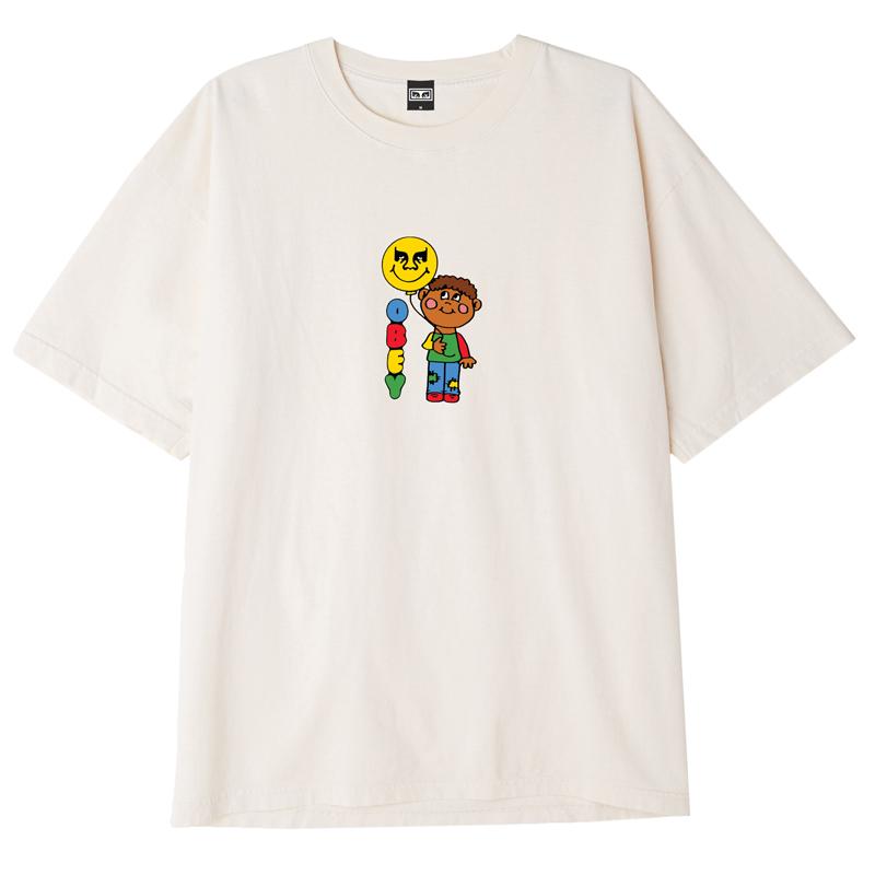 Obey Balloon T-Shirt Cream