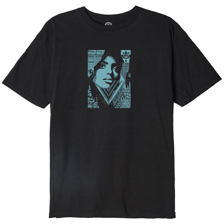 Obey Bias By Numbers T-shirt Black