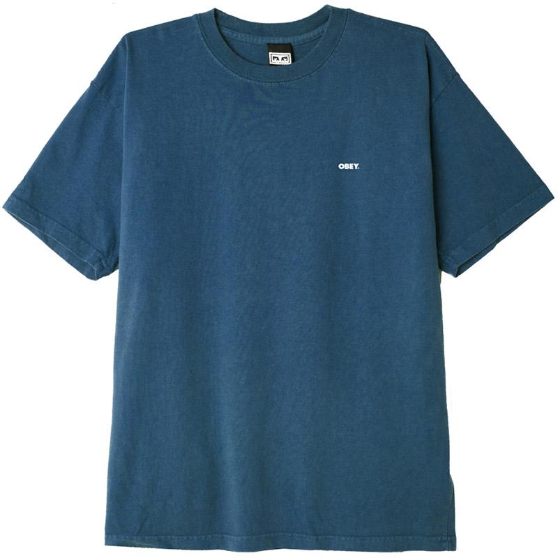 Obey Bold 2 T-Shirt Deep Ocean