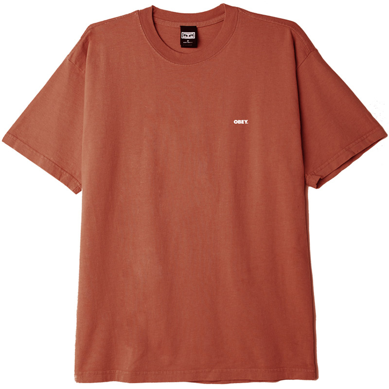 Obey Bold 2 T-Shirt Ginger