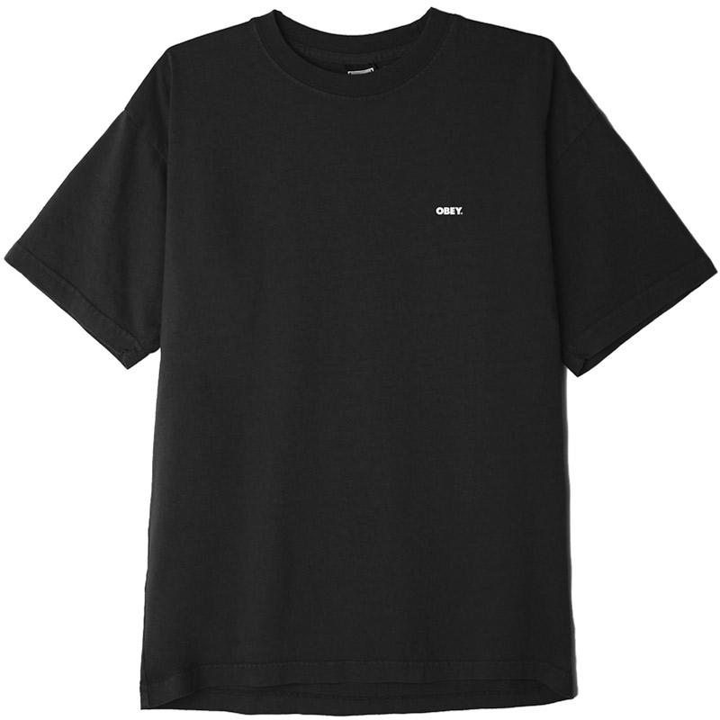 Obey Bold 2 T-Shirt Off Black