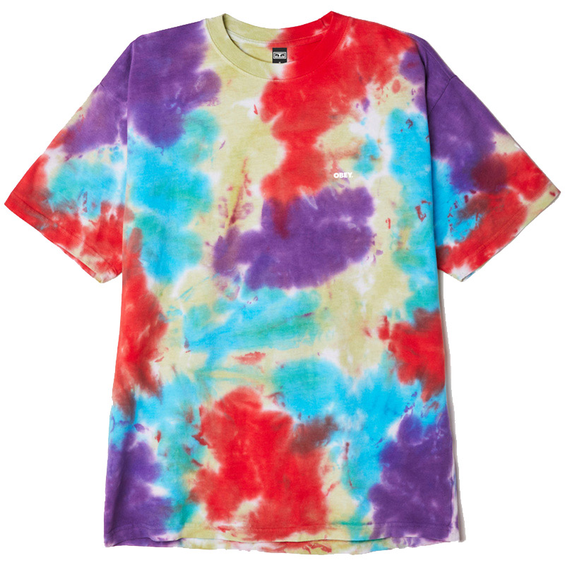 Obey Bold T-Shirt Oxi Fire Blotch