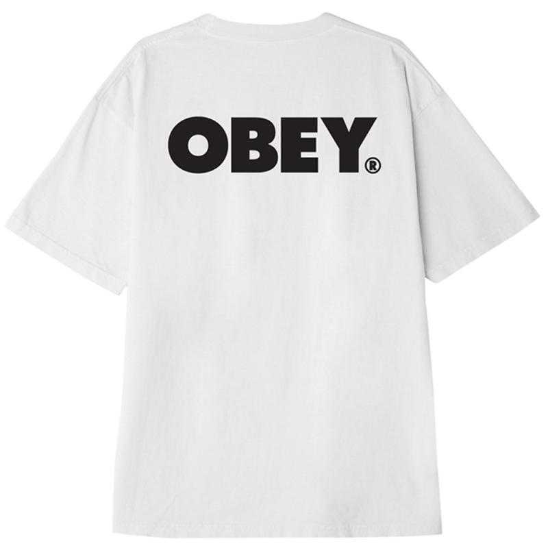 Obey Bold T-Shirt White