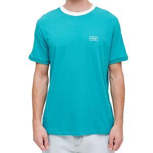 Obey Borstal Box T-shirt Teal