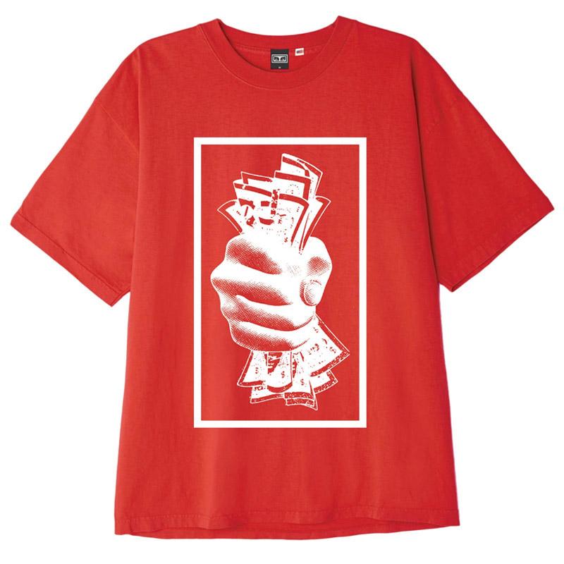Obey C4C T-Shirt Tomato