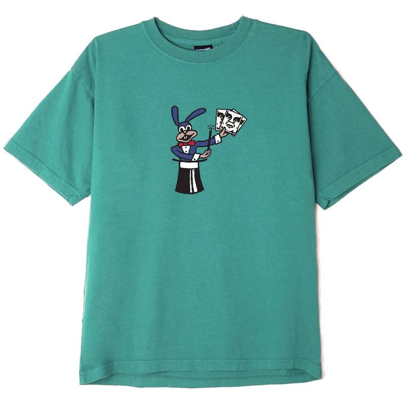 Obey Cheap Trick T-Shirt Bright Jade