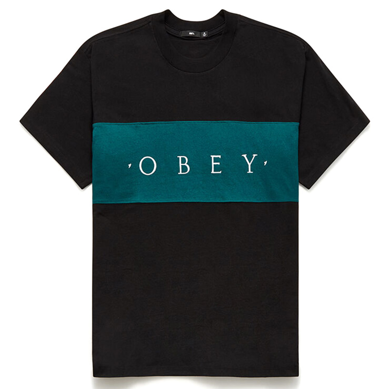 Obey Conrad Classic T-Shirt Black Multi