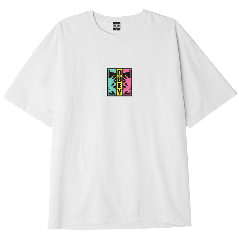 Obey Divided T-Shirt White