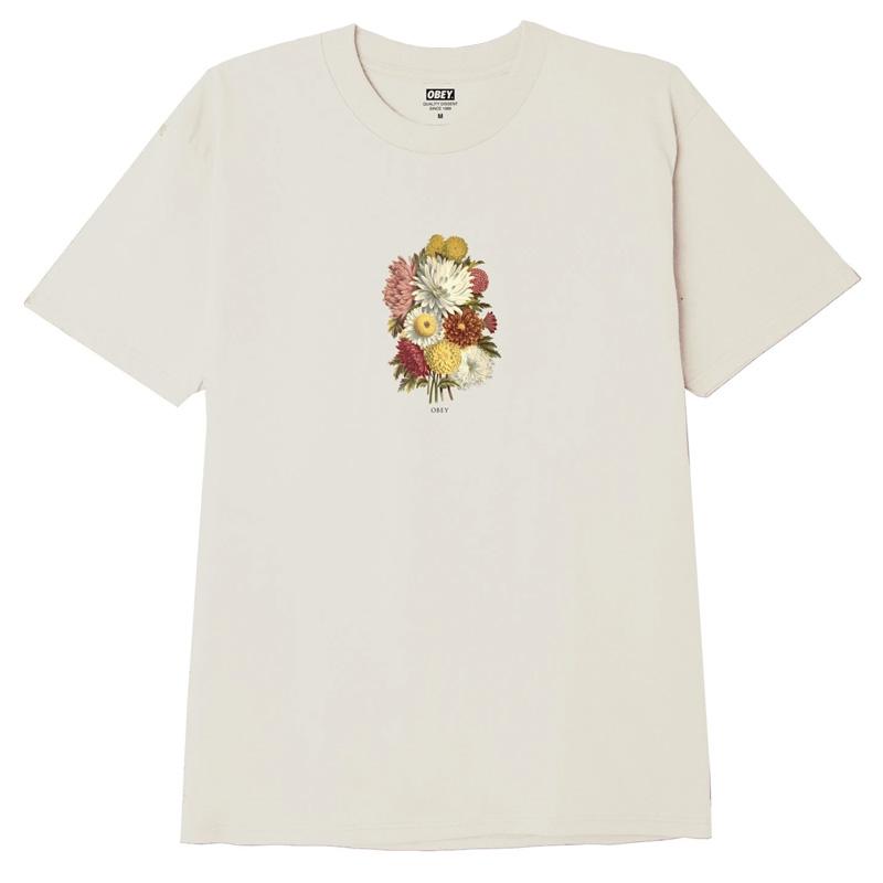 Obey Earth Propagandist T-Shirt Cream