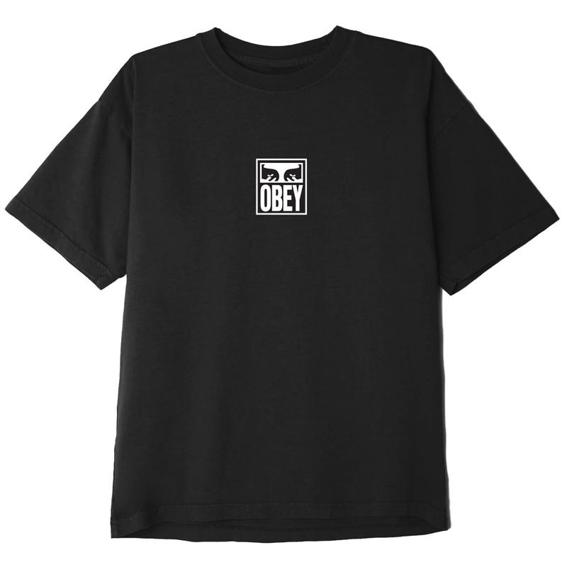 Obey Eyes Icon 3 T-Shirt Black