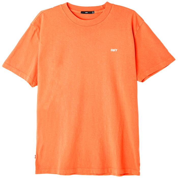Obey Eyes T-shirt Dusty Orange