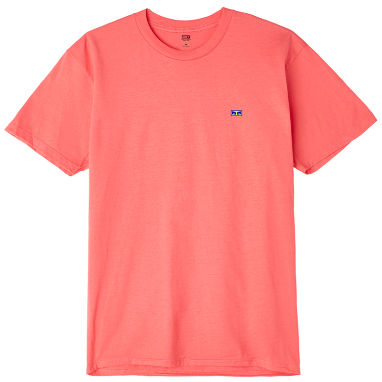 Obey Flashback T-shirt Coral