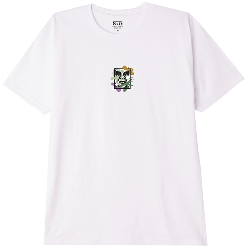 Obey Flower Dance T-Shirt White
