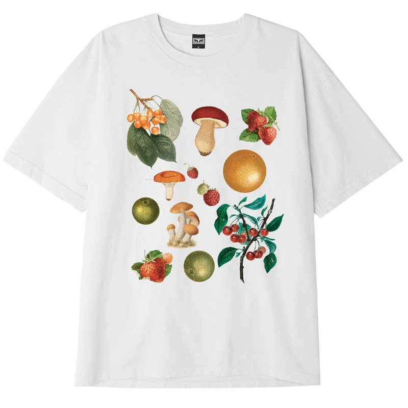 Obey Fruits & Mushrooms T-Shirt White