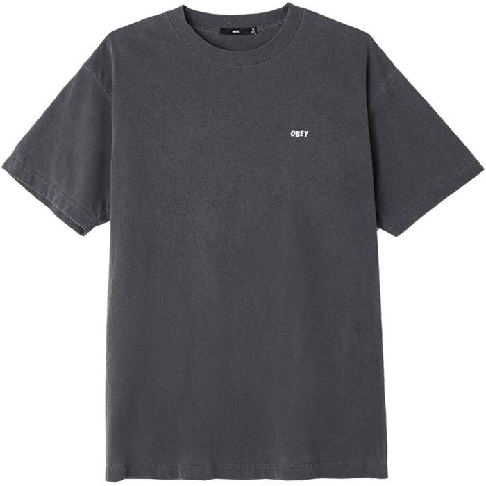 Obey Jumble Lo-Fi T-Shirt Dusty Black