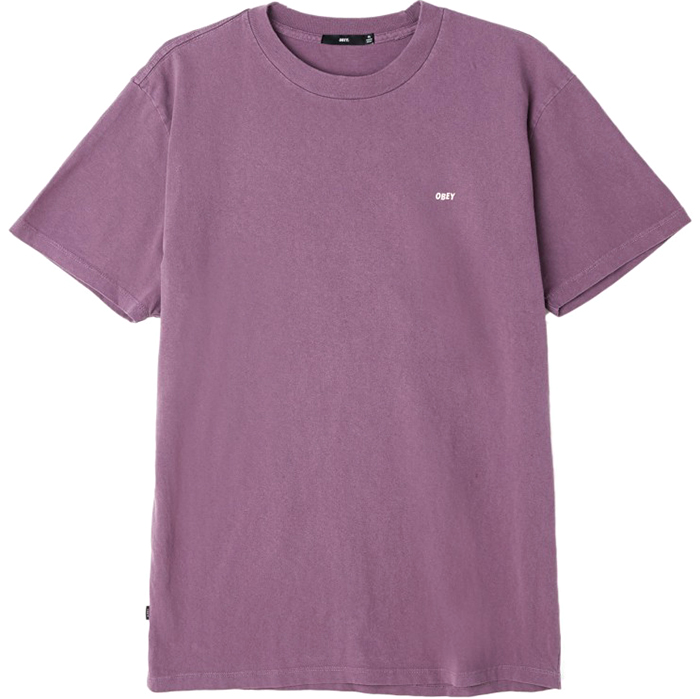 Obey Jumble Lo-Fi T-shirt Dusty Purple