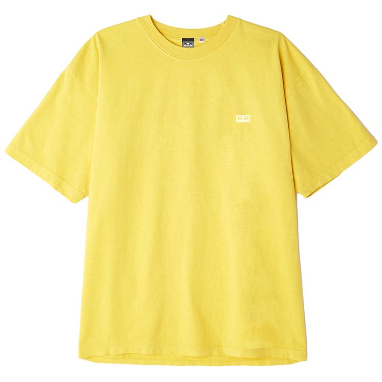 Obey Jumble Lo-Fi T-shirt Spectra Yellow