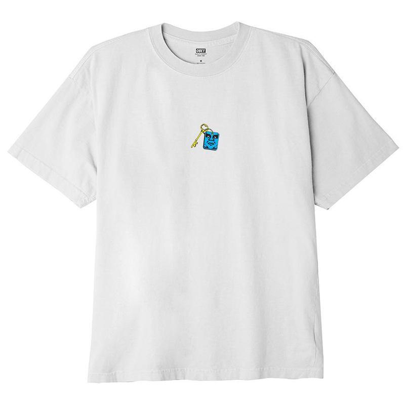Obey Lockup T-Shirt White