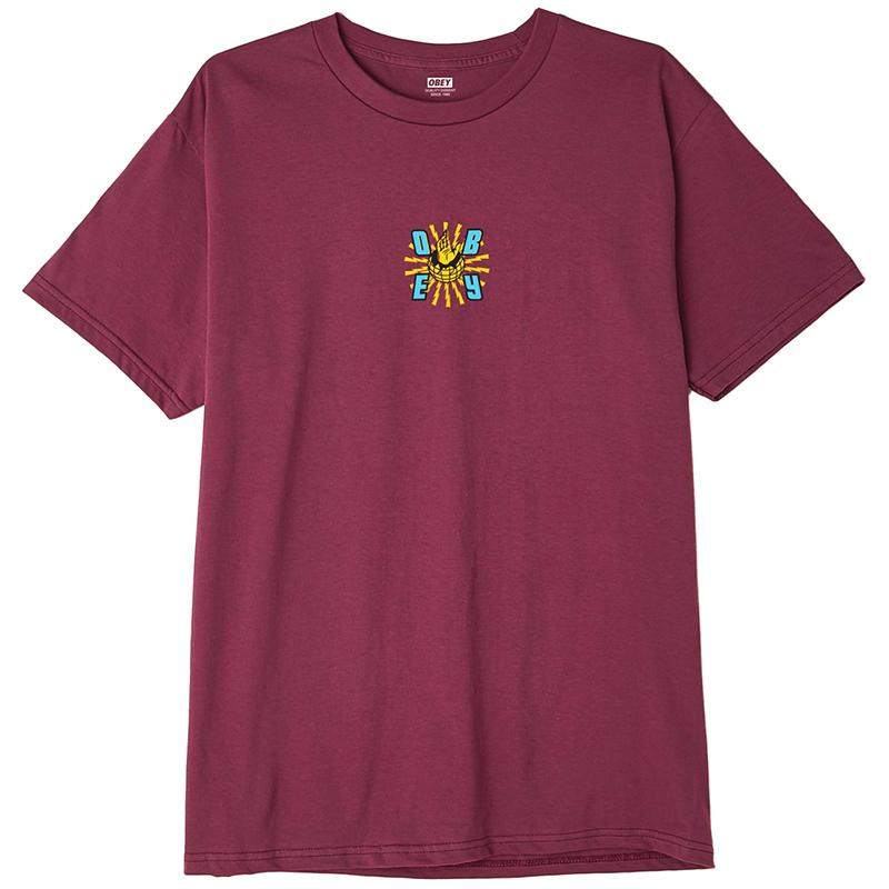 Obey Ministry Of Propaganda T-shirt Raspberry