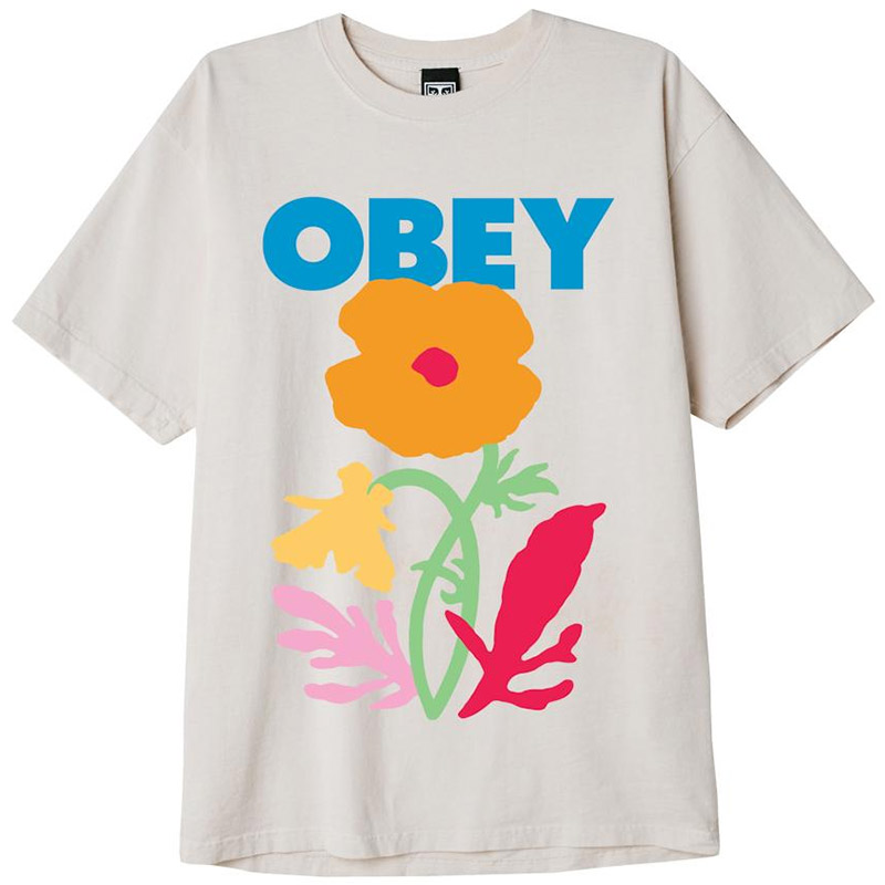 Obey No Future For Apathy T-Shirt Sago